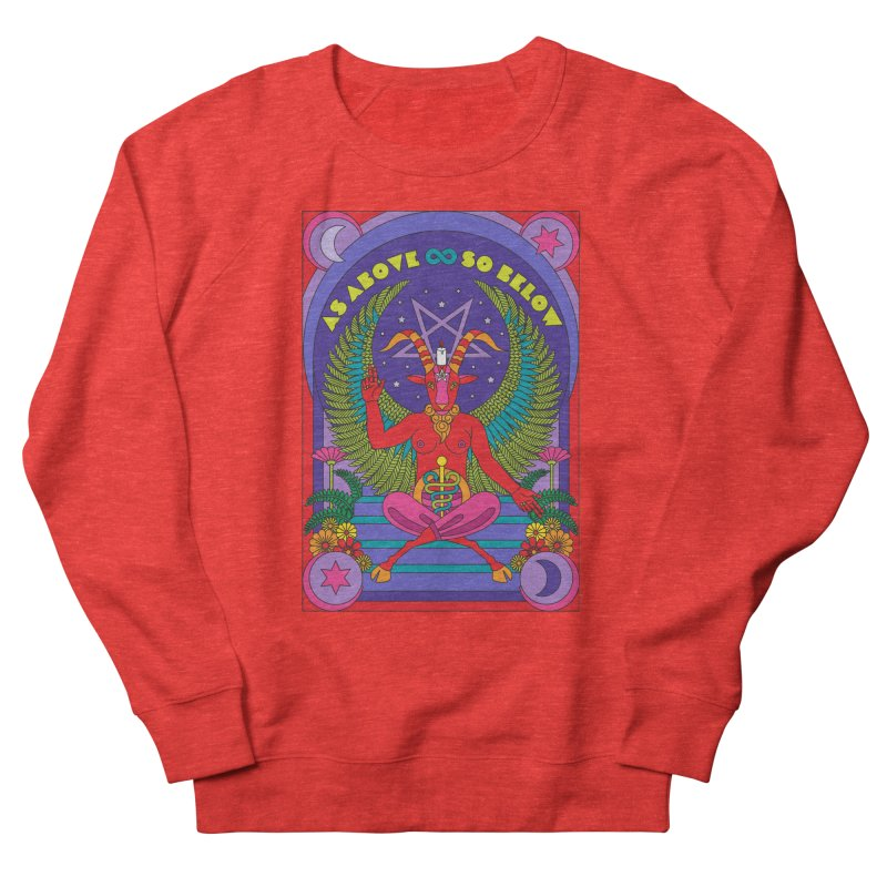 As Above So Below Women's Sweatshirt by Draw! Pilgrim