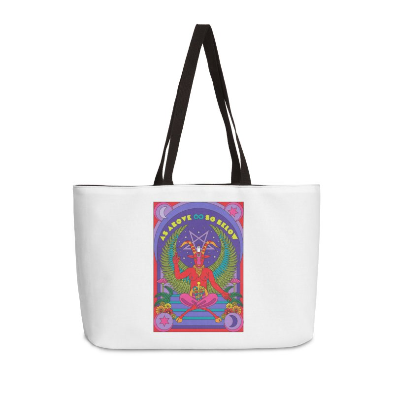 As Above So Below Accessories Bag by Draw! Pilgrim