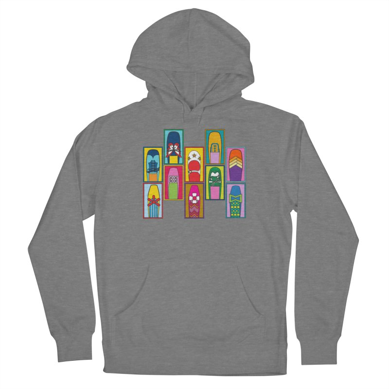 Vintage Shoes Women's Pullover Hoody by Draw! Pilgrim