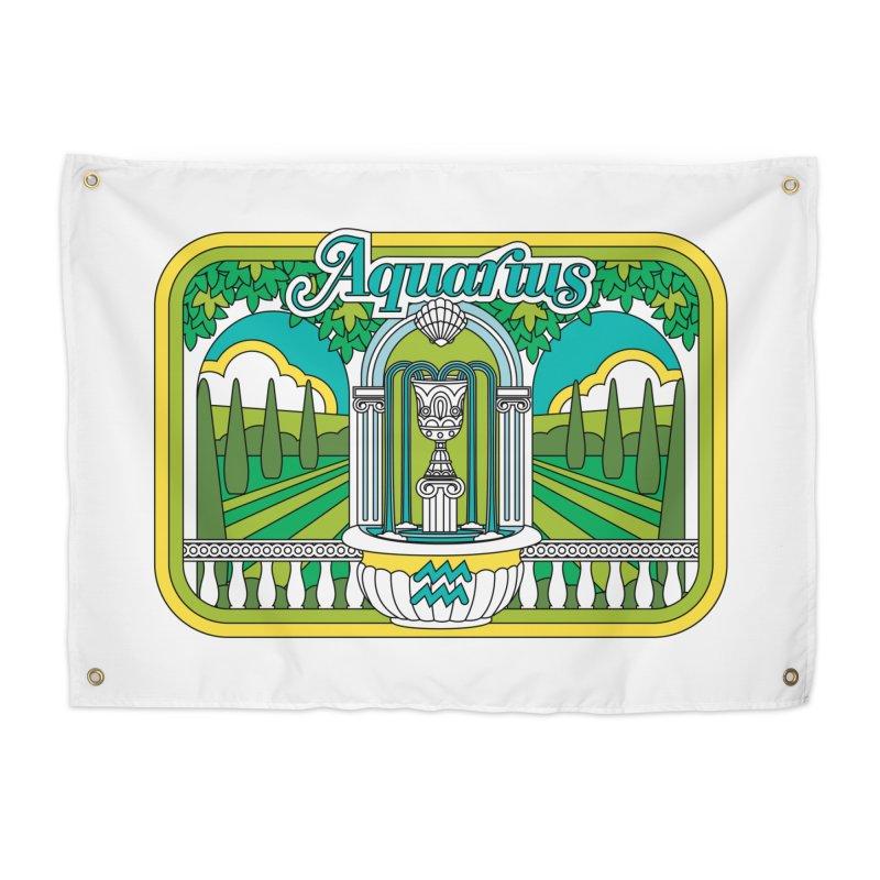 Aquarius Home Tapestry by Draw! Pilgrim