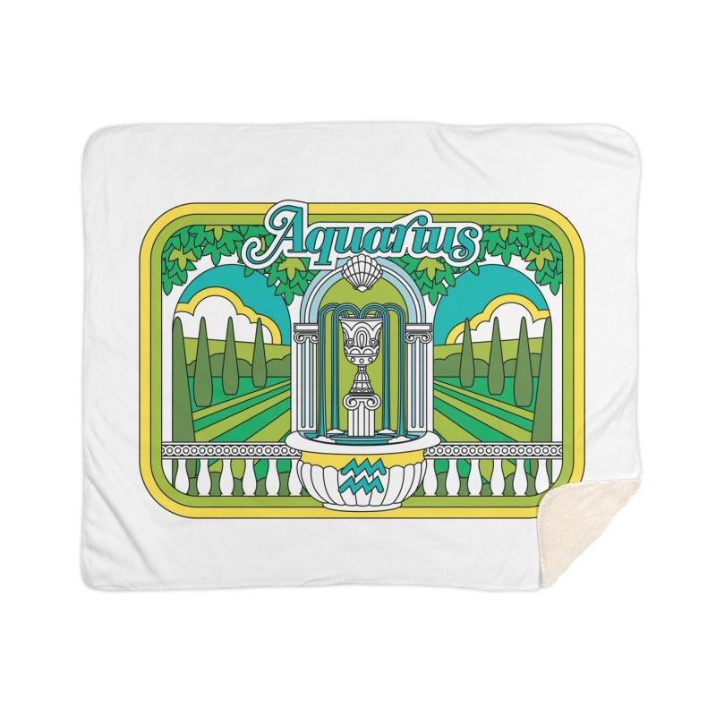 Aquarius Home Blanket by Draw! Pilgrim