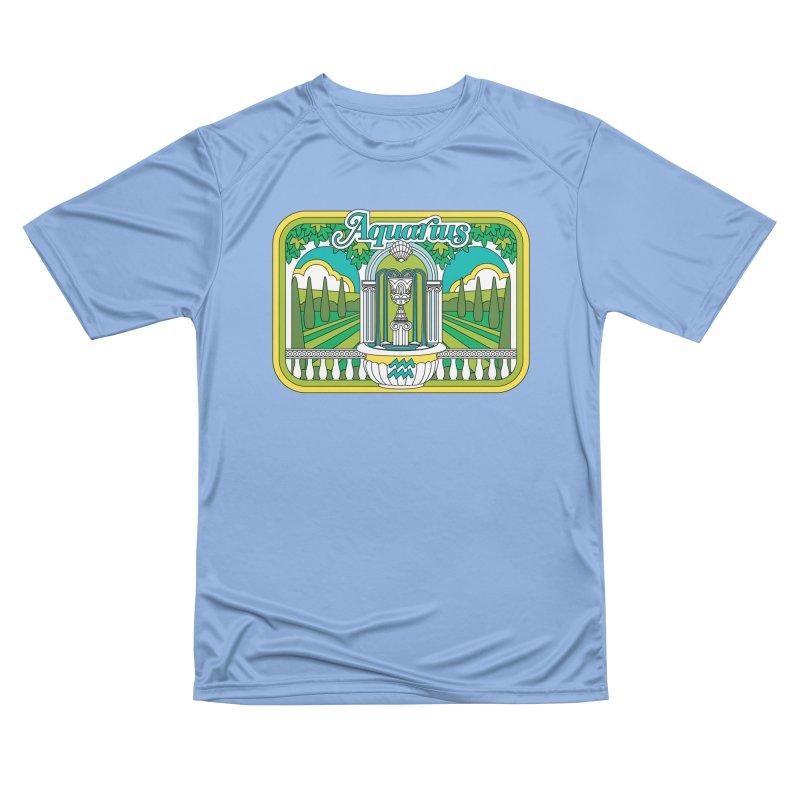 Aquarius Men's T-Shirt by Draw! Pilgrim