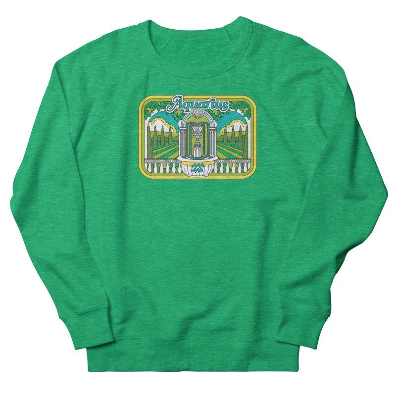 Aquarius Women's Sweatshirt by Draw! Pilgrim