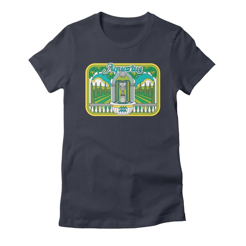 Aquarius Women's T-Shirt by Draw! Pilgrim