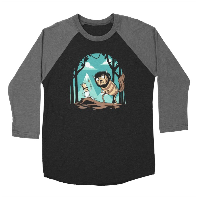 Where the Wild Adventures Are Men's Longsleeve T-Shirt by Drawsgood Illustration and Design