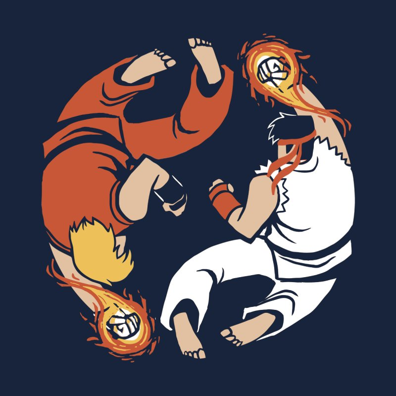 Super Yin Yang Men's T-Shirt by Drawsgood Illustration and Design