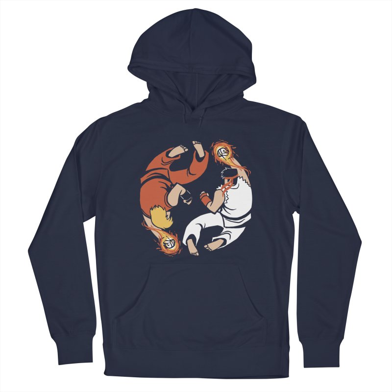 Super Yin Yang Men's Pullover Hoody by Drawsgood Illustration and Design
