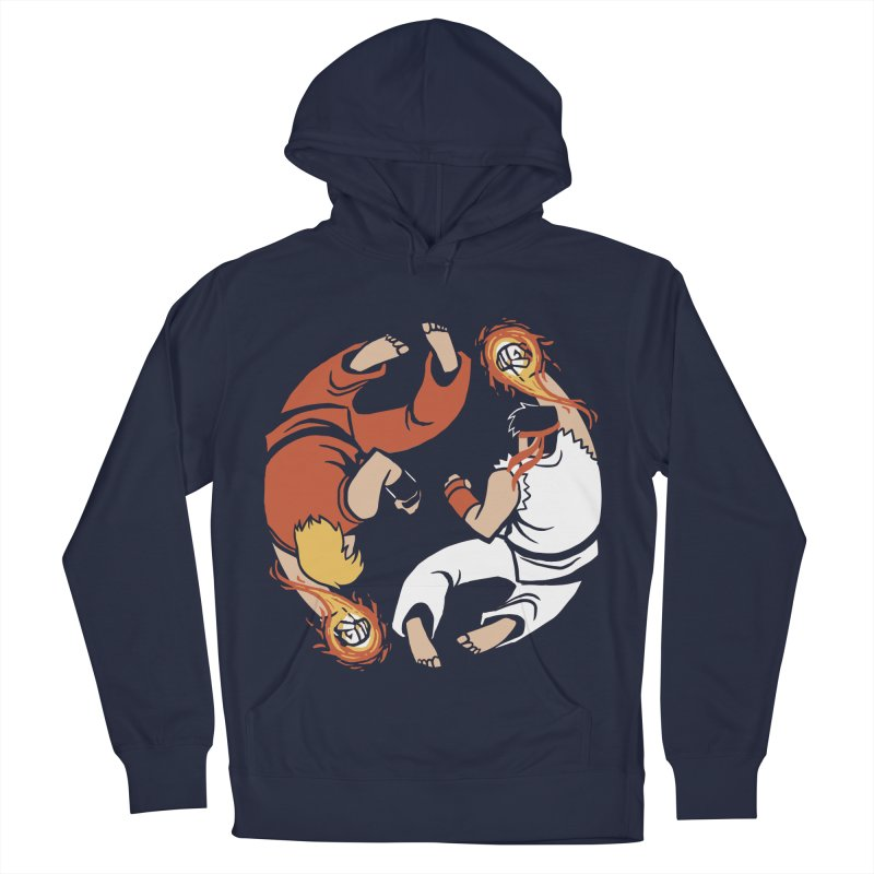 Super Yin Yang Women's Pullover Hoody by Drawsgood Illustration and Design