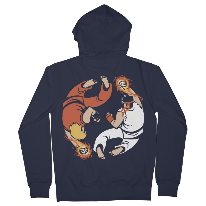 Super Yin Yang Women's Zip-Up Hoody by Drawsgood Illustration and Design