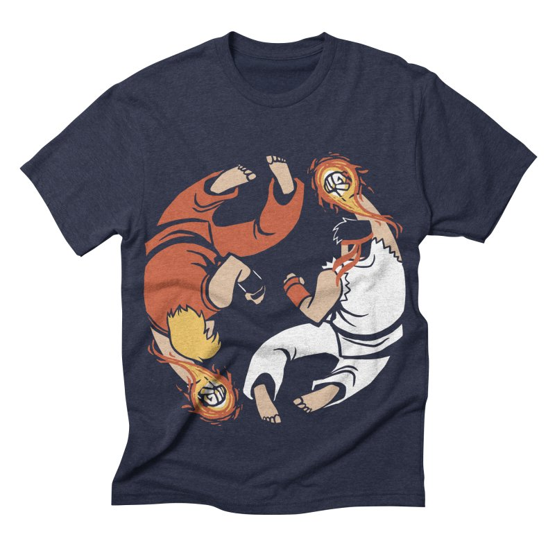 Super Yin Yang Men's Triblend T-shirt by Drawsgood Illustration and Design