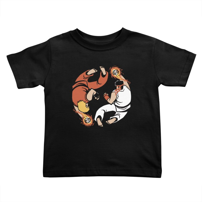 Super Yin Yang Kids Toddler T-Shirt by Drawsgood Illustration and Design