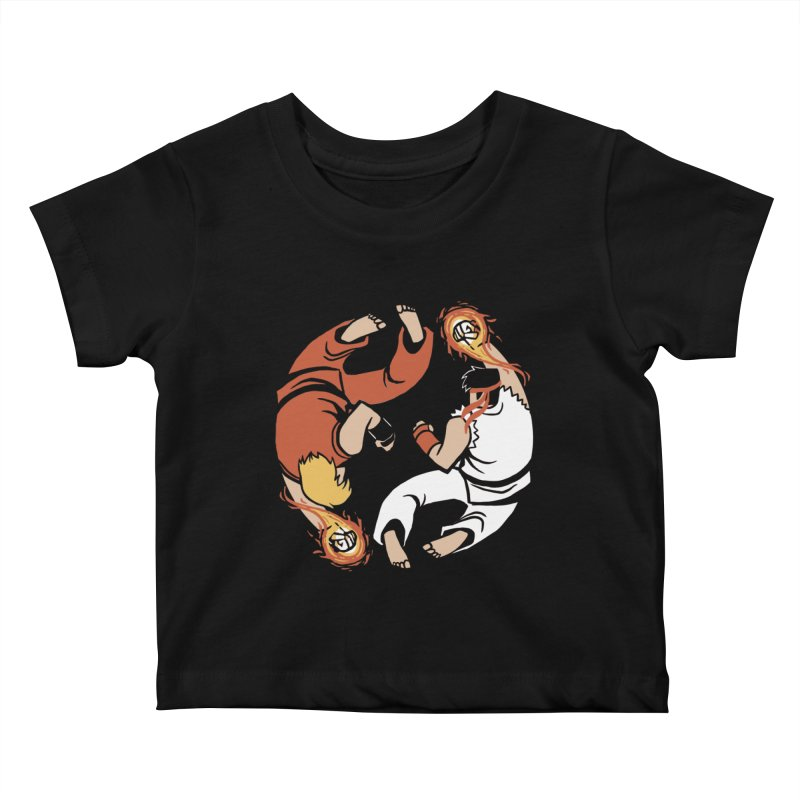 Super Yin Yang Kids Baby T-Shirt by Drawsgood Illustration and Design
