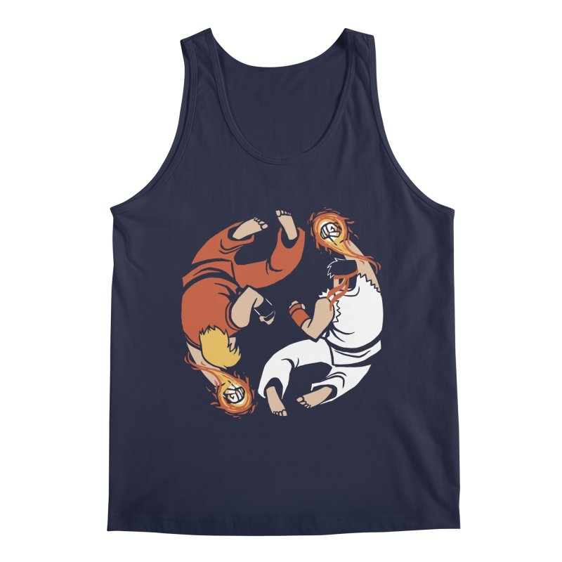 Super Yin Yang Men's Regular Tank by Drawsgood Illustration and Design