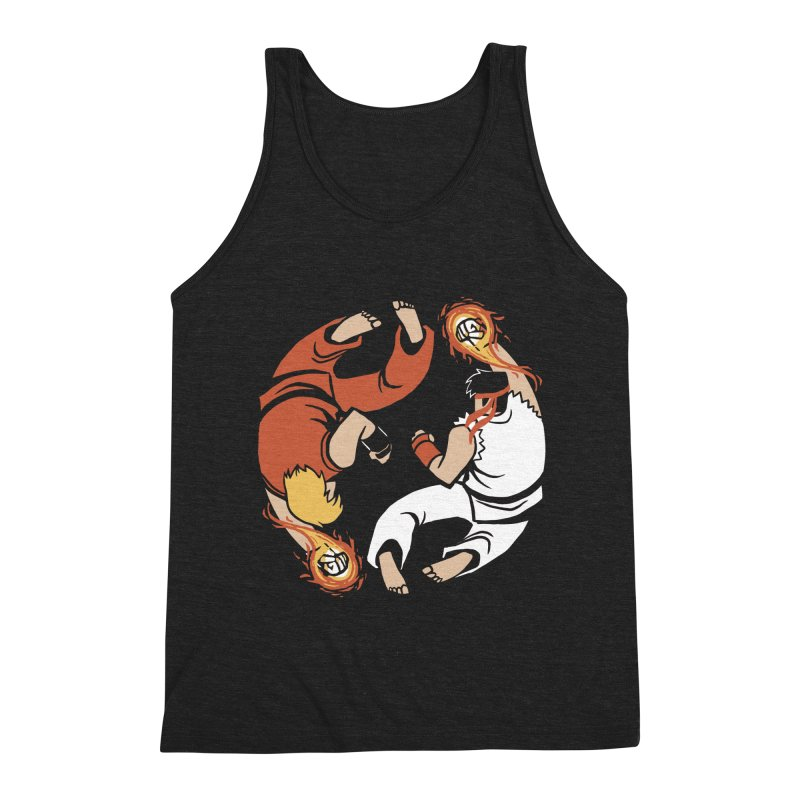 Super Yin Yang Men's Tank by Drawsgood Illustration and Design
