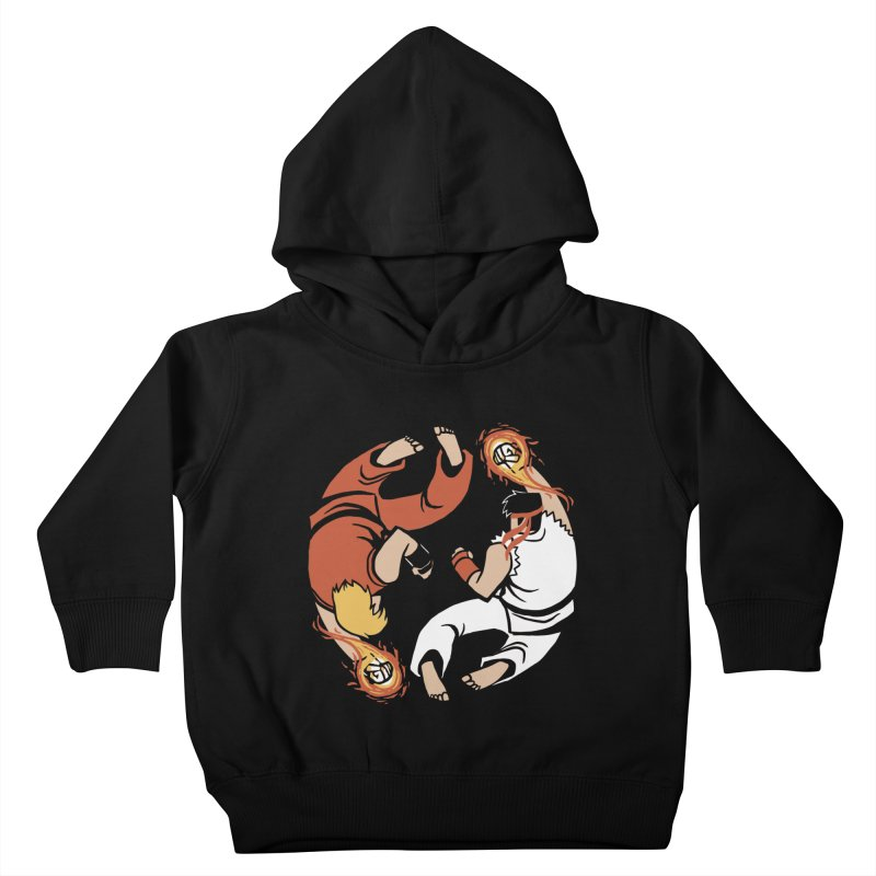 Super Yin Yang Kids Toddler Pullover Hoody by Drawsgood Illustration and Design
