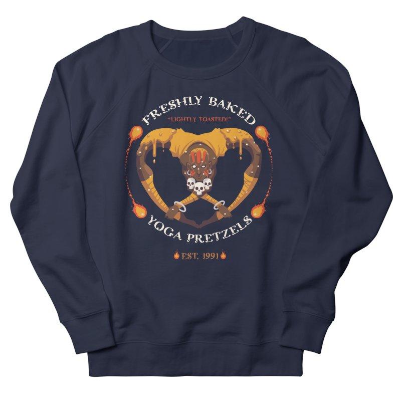 Yoga Pretzels Women's Sweatshirt by Drawsgood Illustration and Design