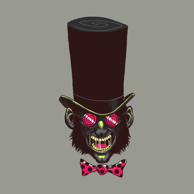 Mad Hatter Men's T-Shirt by Drawsgood Illustration and Design