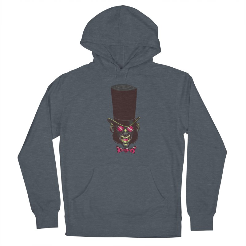Mad Hatter Men's Pullover Hoody by Drawsgood Illustration and Design