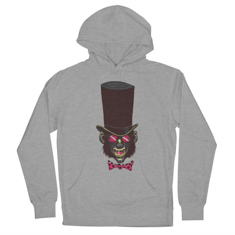 Mad Hatter Women's Pullover Hoody by Drawsgood Illustration and Design