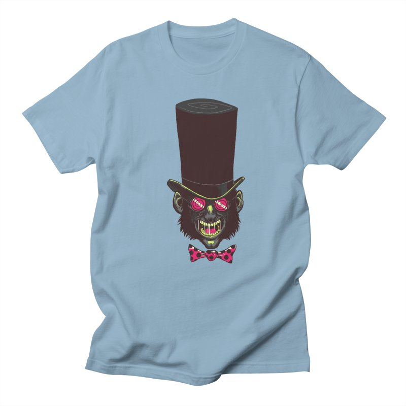 Mad Hatter Men's Regular T-Shirt by Drawsgood Illustration and Design