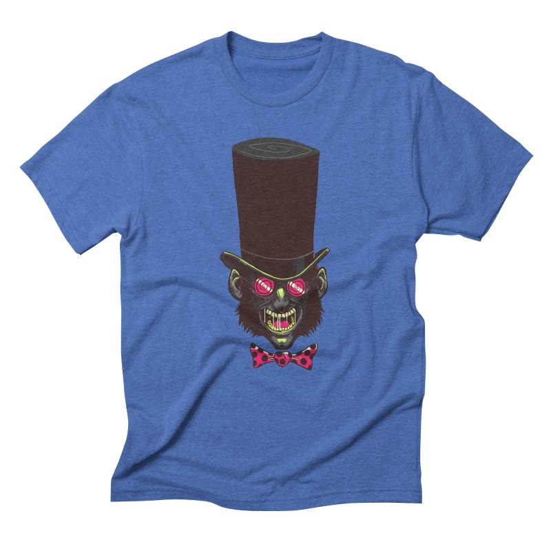 Mad Hatter Men's Triblend T-Shirt by Drawsgood Illustration and Design