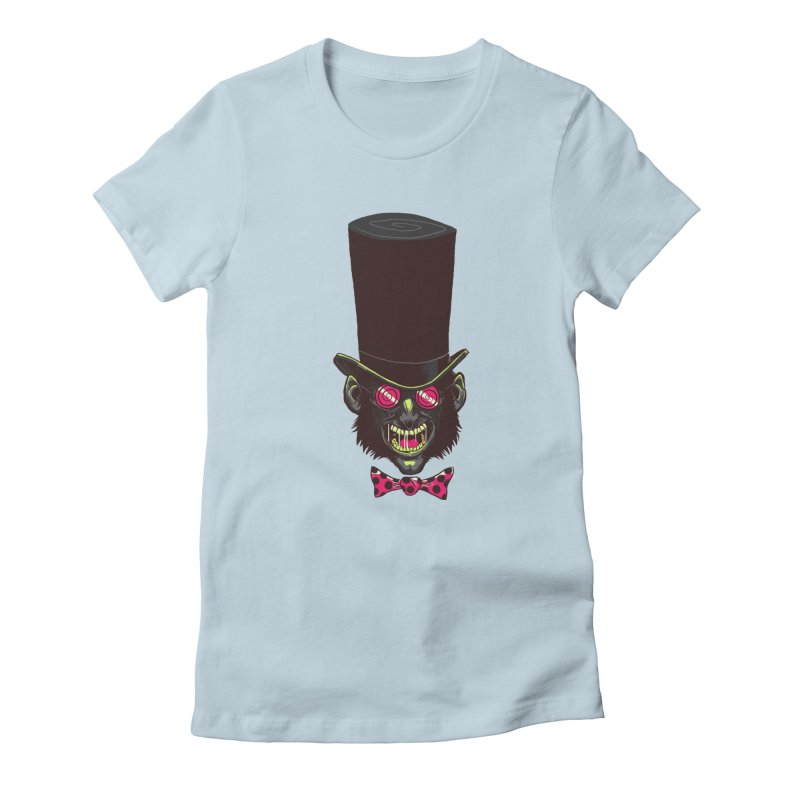 Mad Hatter Women's T-Shirt by Drawsgood Illustration and Design