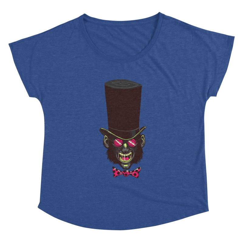 Mad Hatter Women's Dolman by Drawsgood Illustration and Design