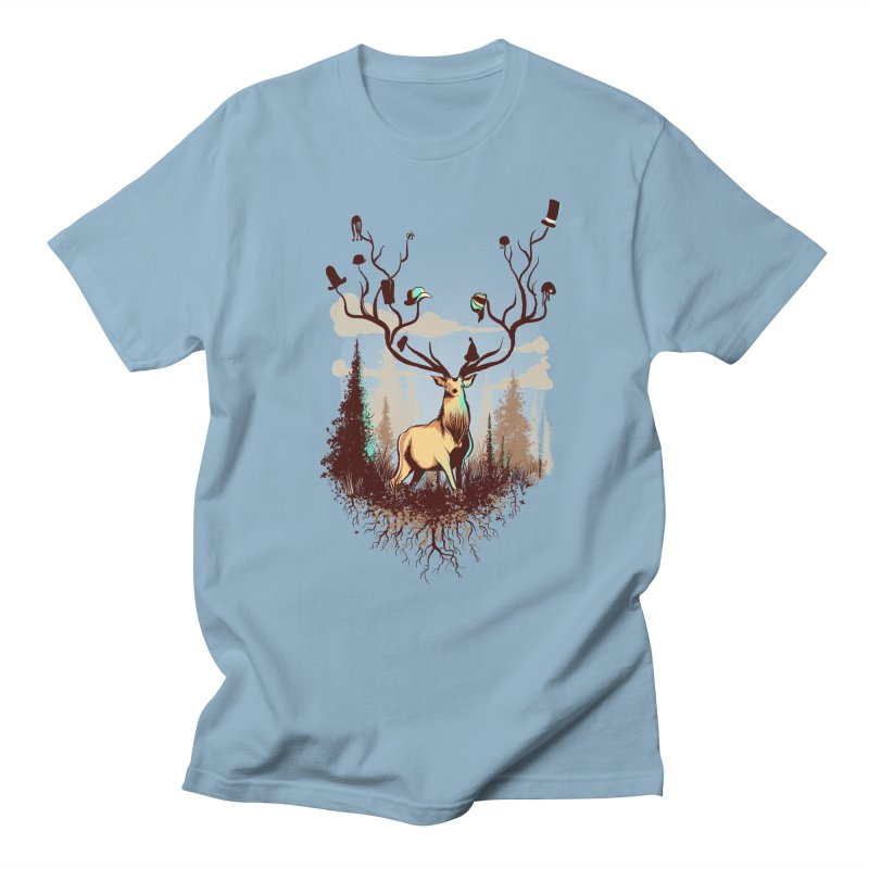 A Rustic Hat Rack Men's T-Shirt by Drawsgood Illustration and Design