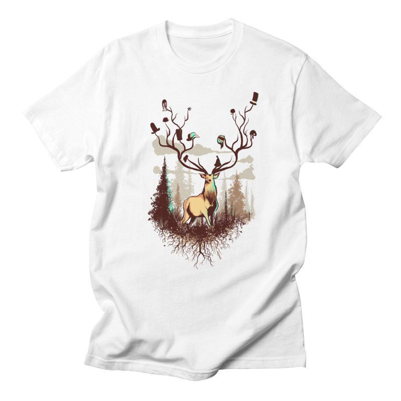 A Rustic Hat Rack Men's Regular T-Shirt by Drawsgood Illustration and Design