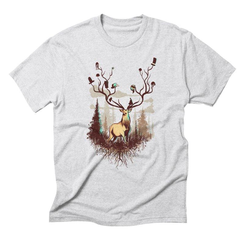 A Rustic Hat Rack Men's Triblend T-Shirt by Drawsgood Illustration and Design