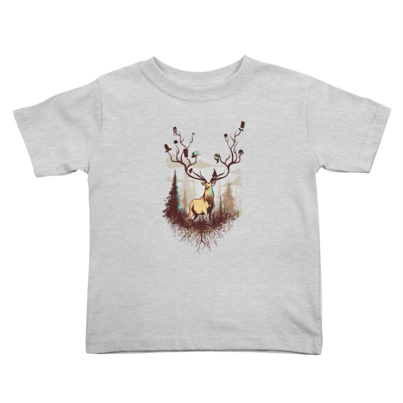 A Rustic Hat Rack Kids Toddler T-Shirt by Drawsgood Illustration and Design