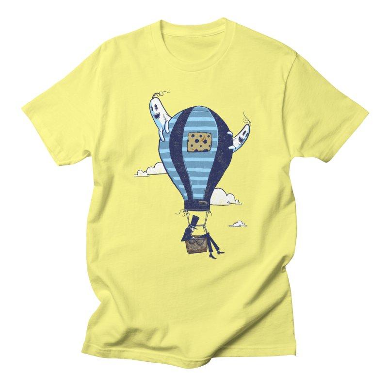 Hot Air Balloon Men's T-Shirt by Drawsgood Illustration and Design