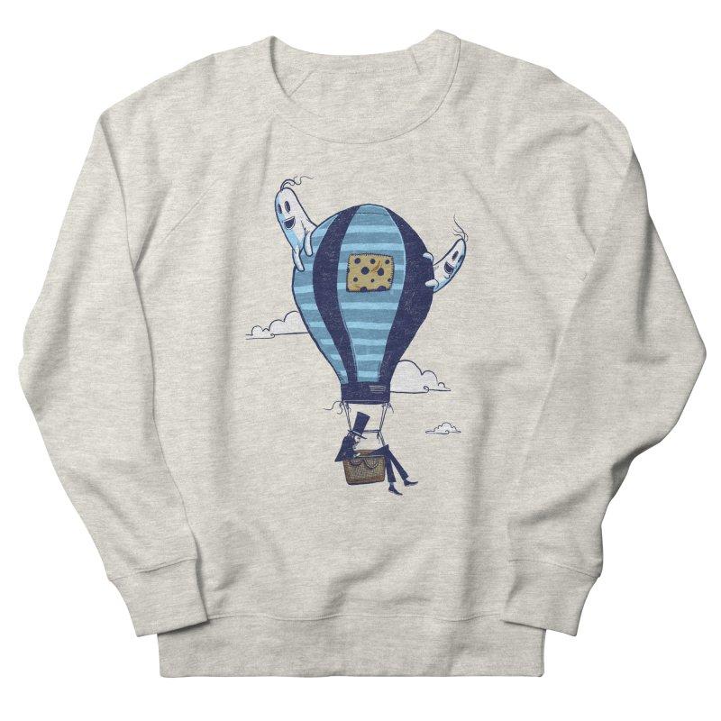 Hot Air Balloon Men's Sweatshirt by Drawsgood Illustration and Design