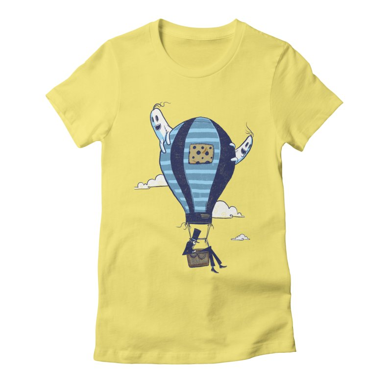 Hot Air Balloon Women's T-Shirt by Drawsgood Illustration and Design