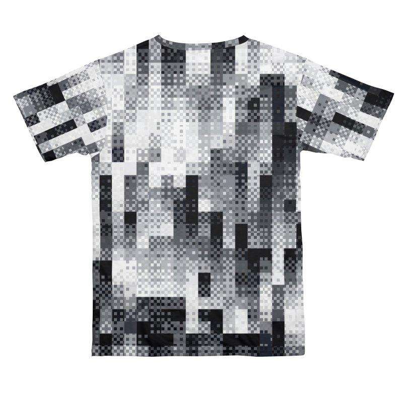 Pixl8 (Mono) Men's Cut & Sew by Dread Empire
