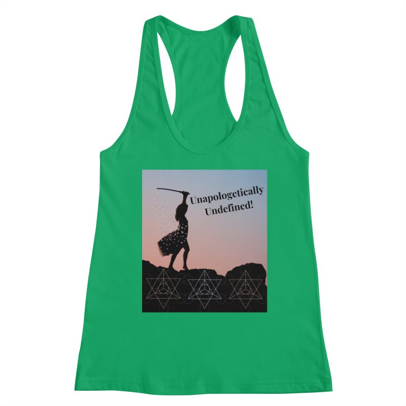 Unapologetically Undefined! Women's Tank by Dream BOLD Network Shop