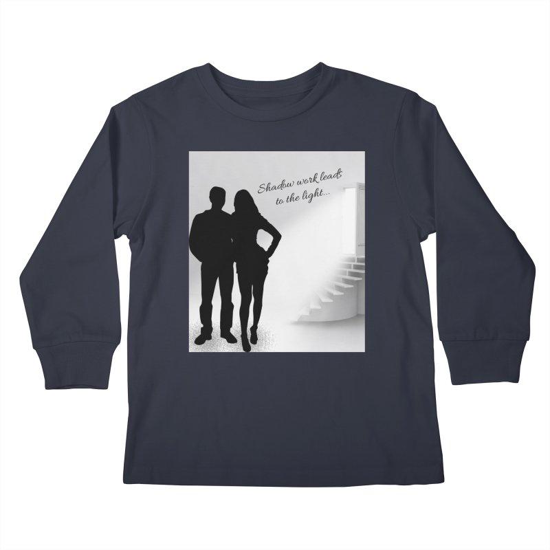 Follow the Light! Kids Longsleeve T-Shirt by Dream BOLD Network Shop