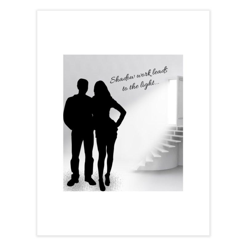 Follow the Light! Home Fine Art Print by Dream BOLD Network Shop