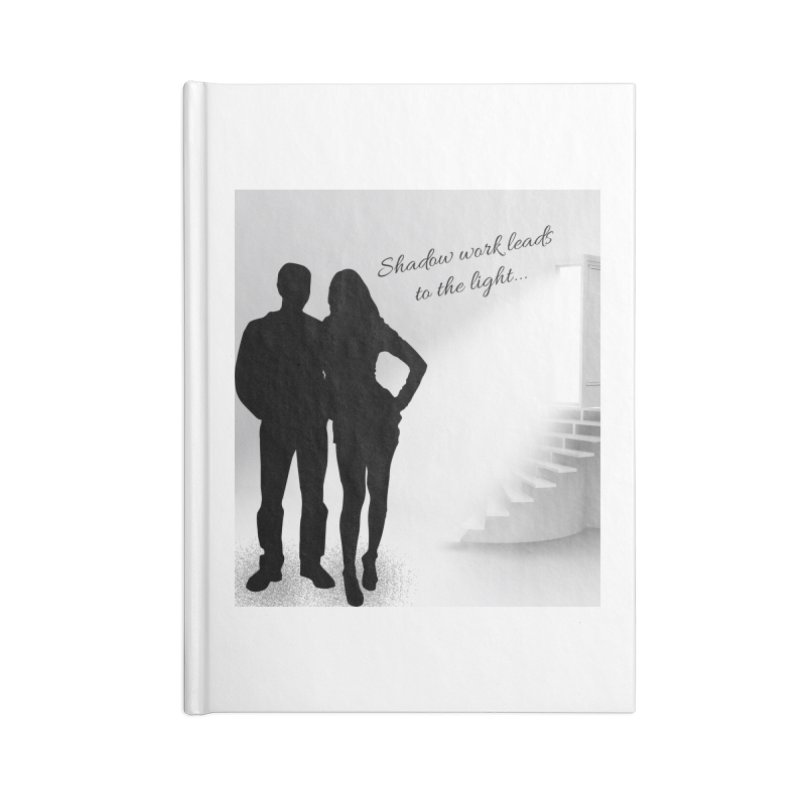Follow the Light! Accessories Notebook by Dream BOLD Network Shop