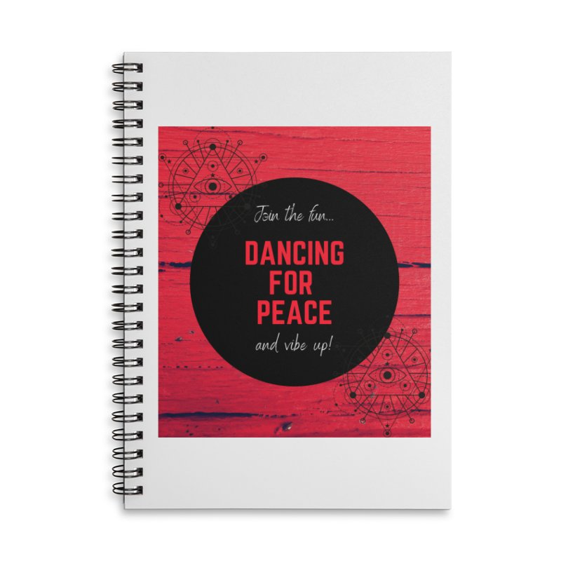 Sacred Dancing Accessories Notebook by Dream BOLD Network Shop
