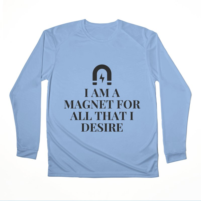 Magnetize Desires Men's Longsleeve T-Shirt by Dream BOLD Network Shop
