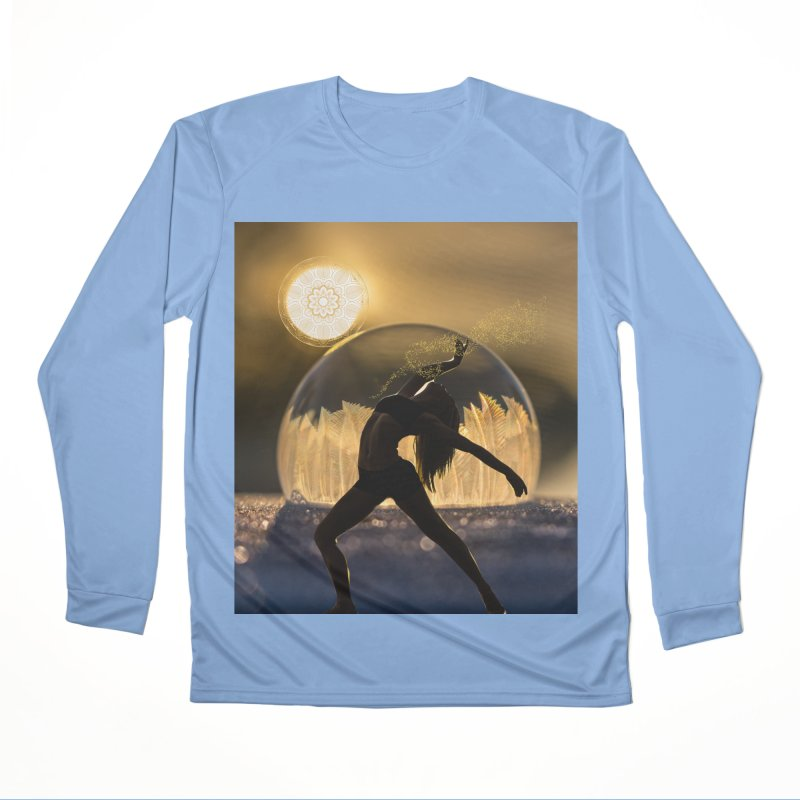 Sacred Goddess Men's Longsleeve T-Shirt by Dream BOLD Network Shop