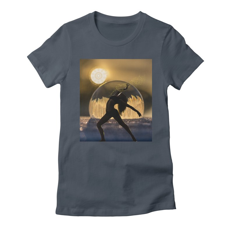 Sacred Goddess Women's T-Shirt by Dream BOLD Network Shop
