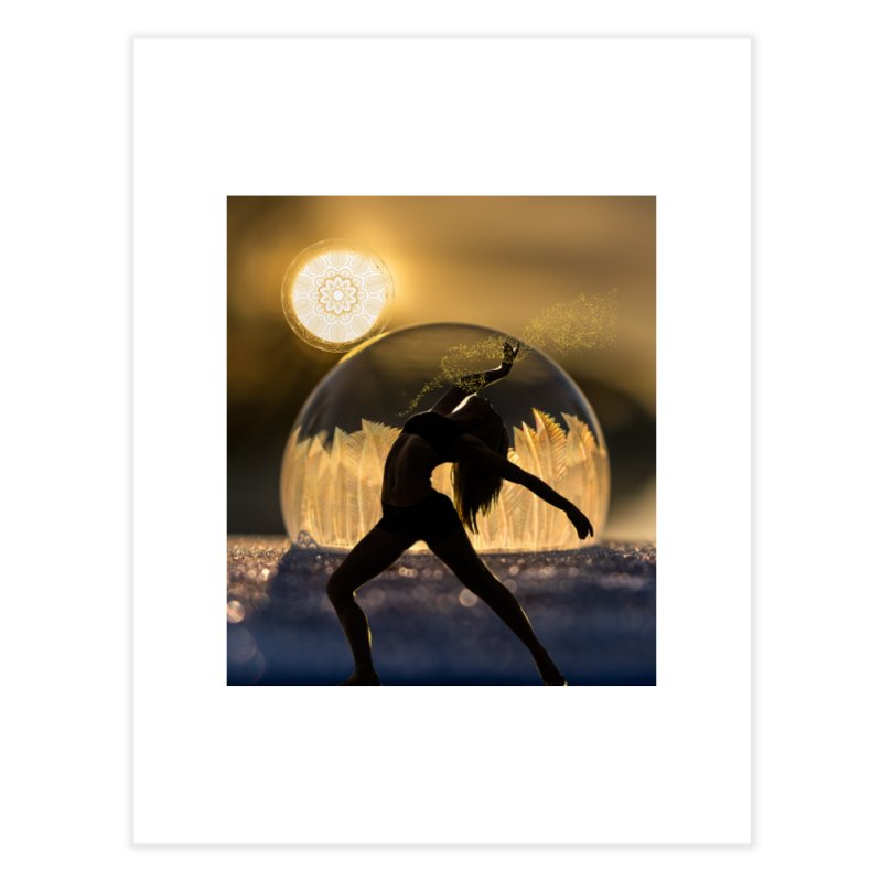 Sacred Goddess Home Fine Art Print by Dream BOLD Network Shop