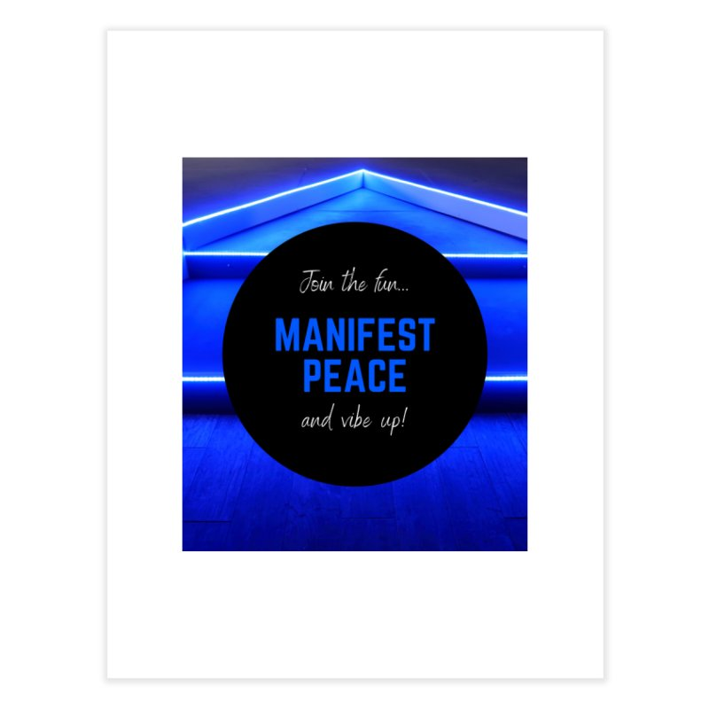 Join the Movement Home Fine Art Print by Dream BOLD Network Shop