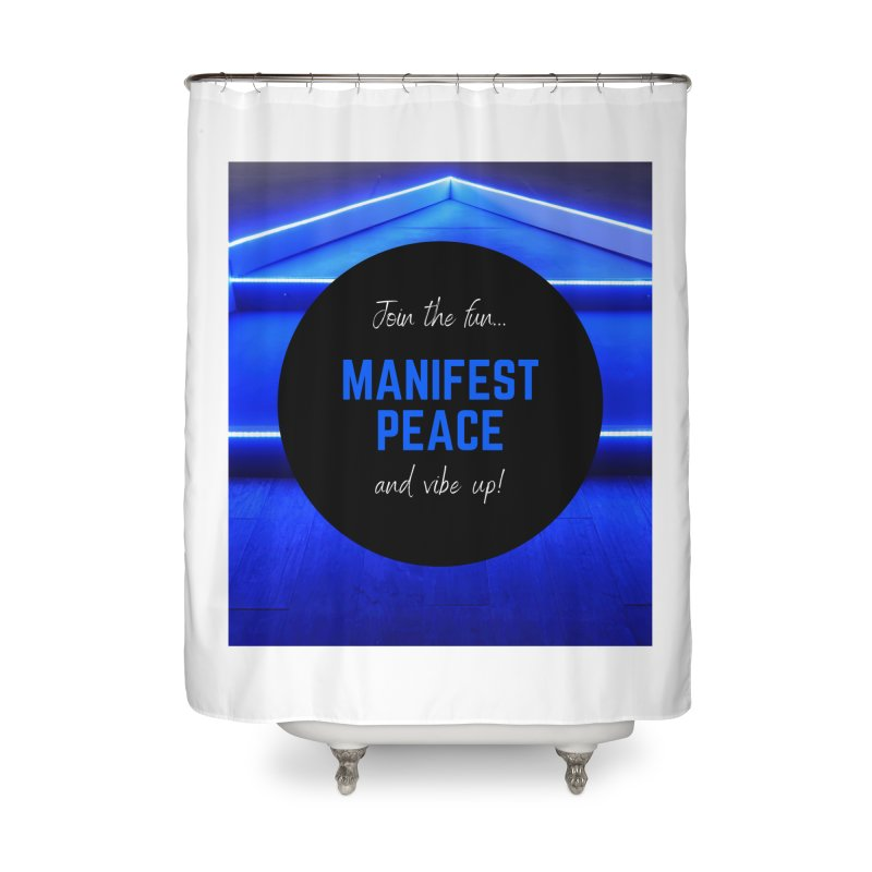 Join the Movement Home Shower Curtain by Dream BOLD Network Shop