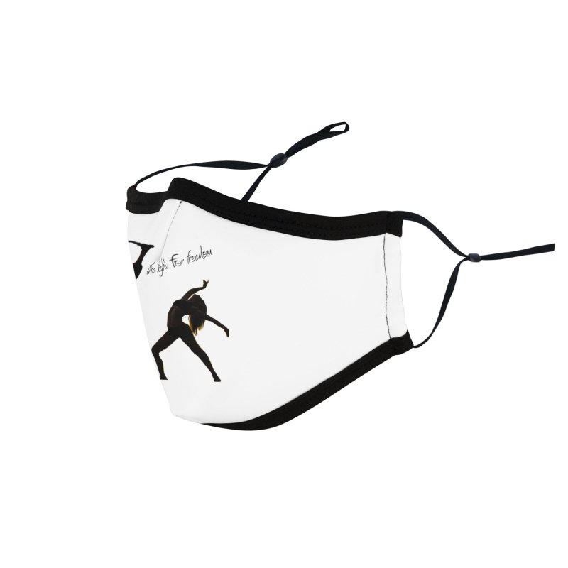 The Fight for Freedom Accessories Face Mask by Dream BOLD Network Shop