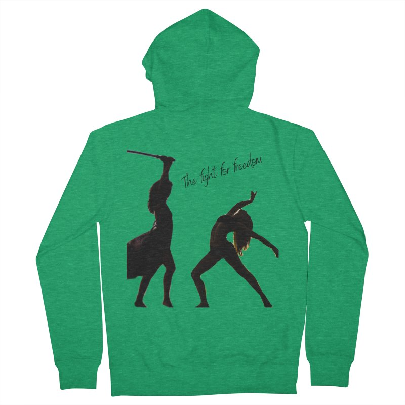 The Fight for Freedom Women's Zip-Up Hoody by Dream BOLD Network Shop