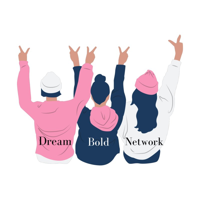 Dream Bold Ladies Women's Zip-Up Hoody by Dream BOLD Network Shop