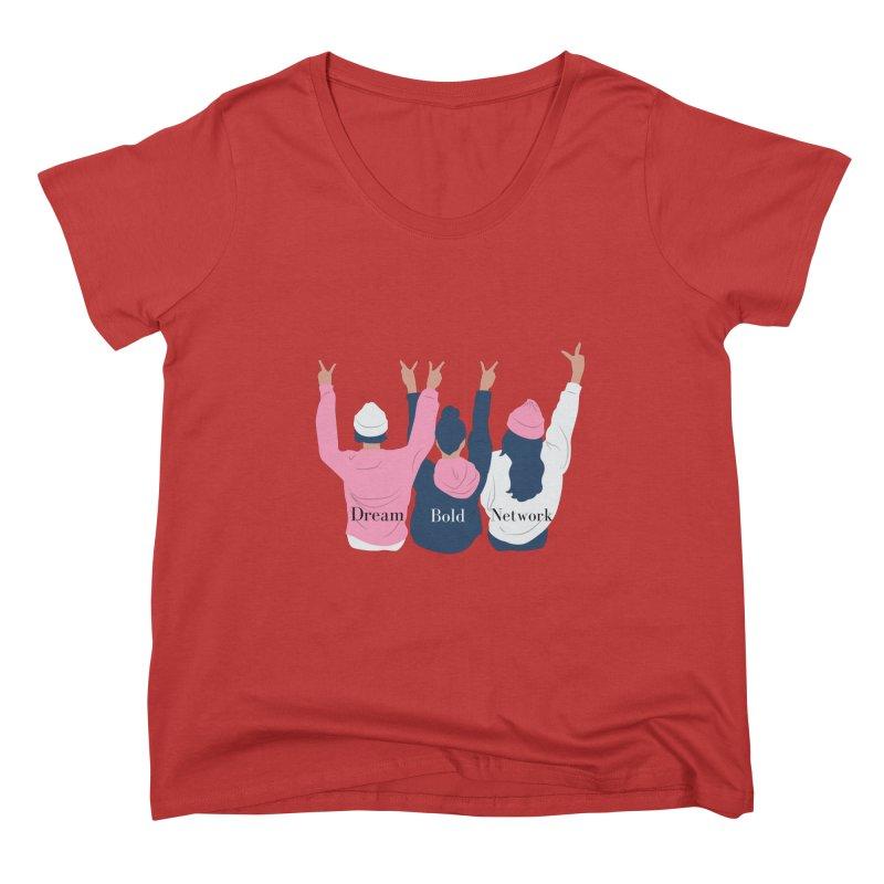 Dream Bold Ladies Women's Scoop Neck by Dream BOLD Network Shop